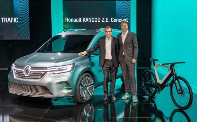 2019 - Conférence de presse Gamme Véhicules Utilitaires Renault